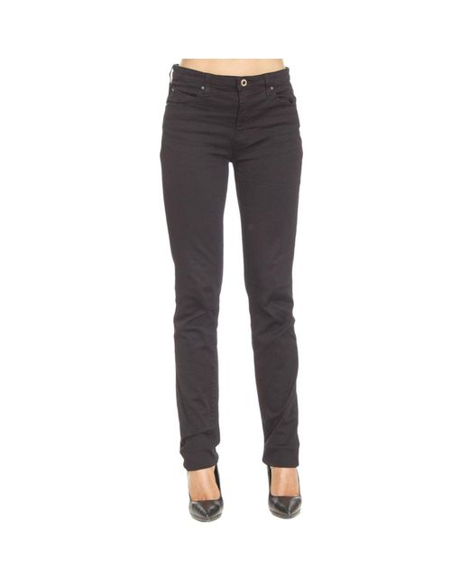 Armani Jeans | Black Jeans For Women Woman | Lyst