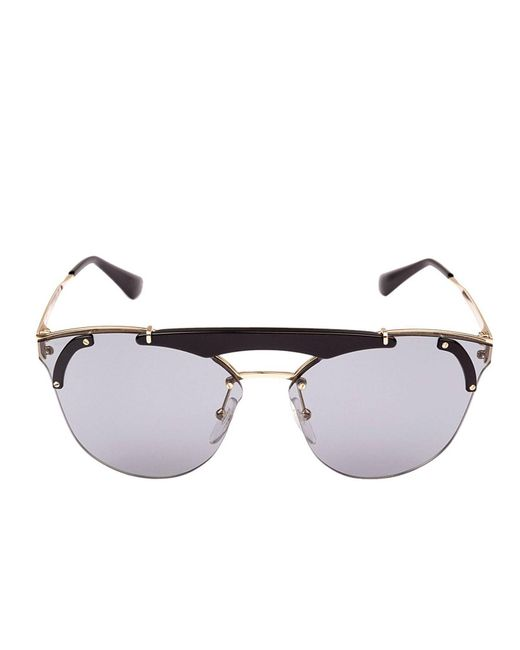 26ac834f83 ... Prada - Black Sunglasses Women - Lyst ...