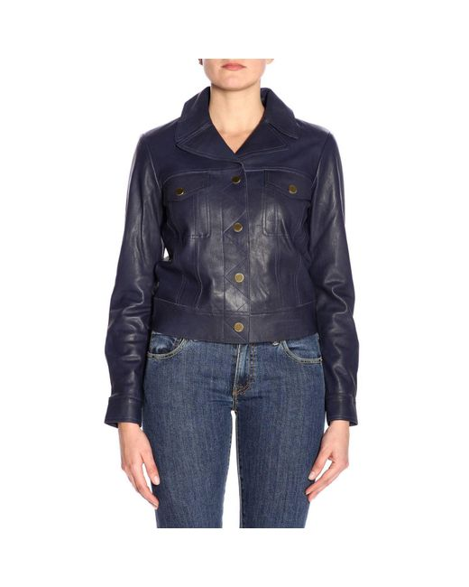 MICHAEL Michael Kors - Blue Coat Women - Lyst