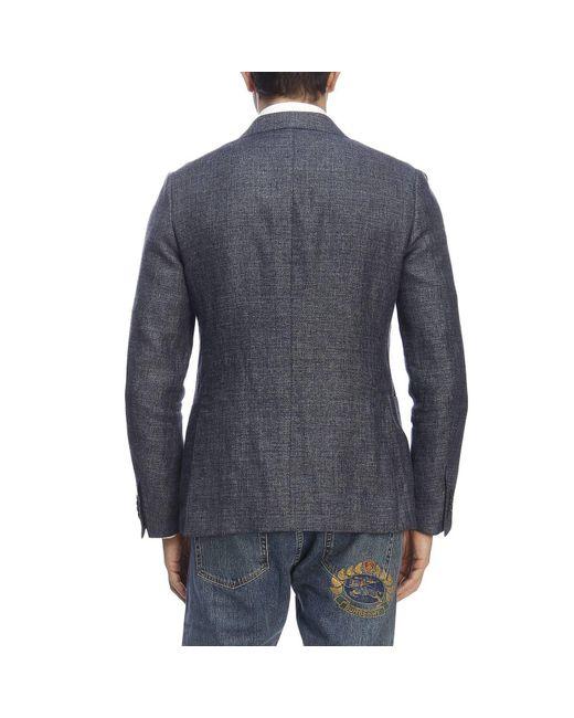 e3951541 Lyst - Z Zegna Jacket Men in Blue for Men