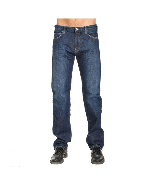 Armani Jeans | Blue Jeans Men for Men | Lyst