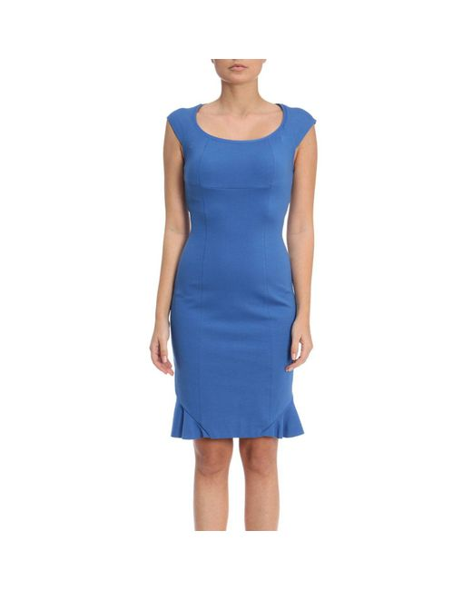 Pinko - Blue Dress Women - Lyst