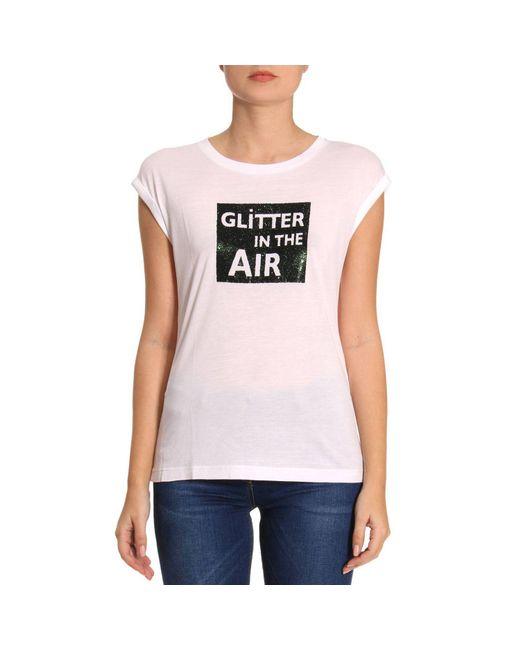Emporio Armani - White T-shirt Women - Lyst