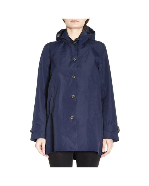 Save The Duck | Blue Coat Women | Lyst