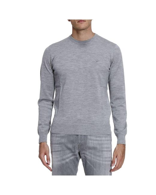 Armani Jeans | Gray Sweater Men for Men | Lyst