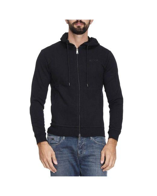 Armani Jeans | Black Sweater Men for Men | Lyst