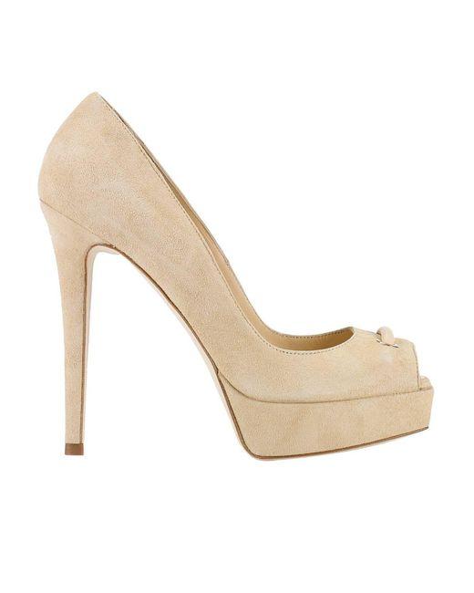 Elisabetta Franchi | Natural Shoes Women | Lyst