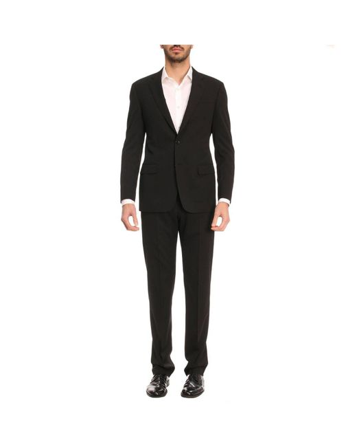 Giorgio Armani - Black Suit Men for Men - Lyst