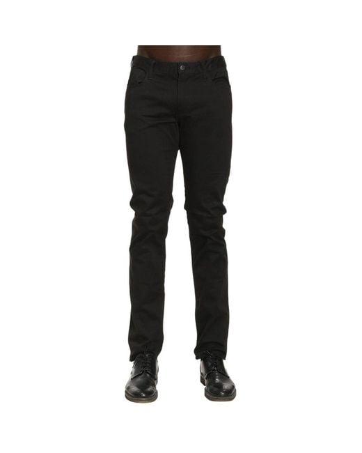 Armani Jeans | Black Pants Men for Men | Lyst