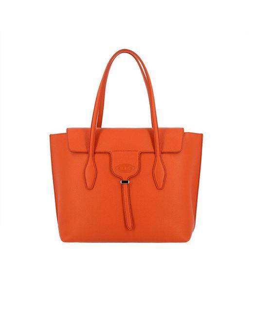 Tod's - Orange Shoulder Bag Women - Lyst