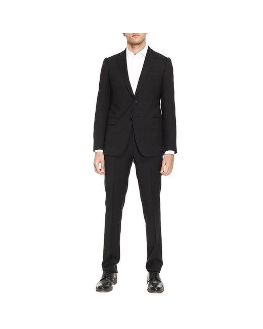 Armani | Black Suit Men for Men | Lyst