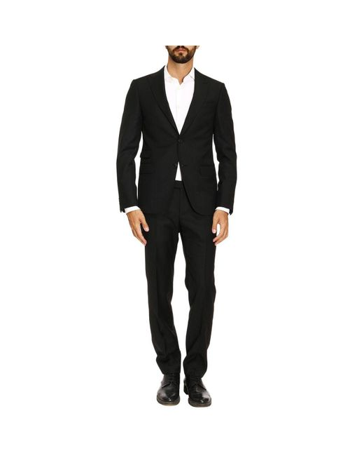 Z Zegna - Black Suit Men for Men - Lyst