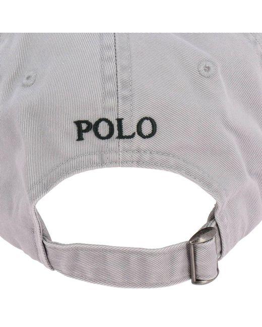 fe77e30999e5b ... Polo Ralph Lauren - Gray Hat Men for Men - Lyst