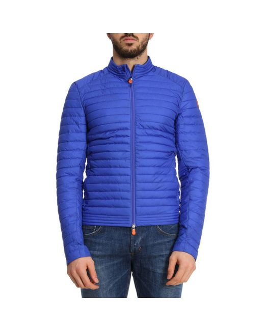 Save The Duck - Blue Jacket Men for Men - Lyst