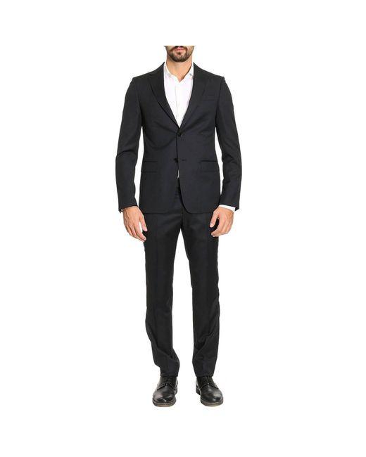 Z Zegna | Black Suit Men for Men | Lyst