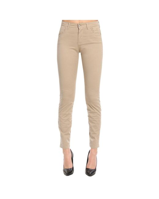 Jeckerson - Natural Pants Women - Lyst