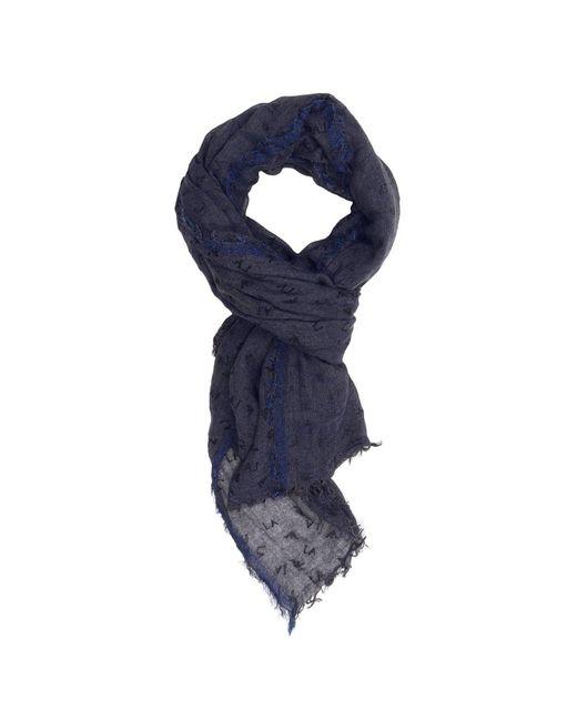 Armani Jeans   Blue Scarf Women   Lyst