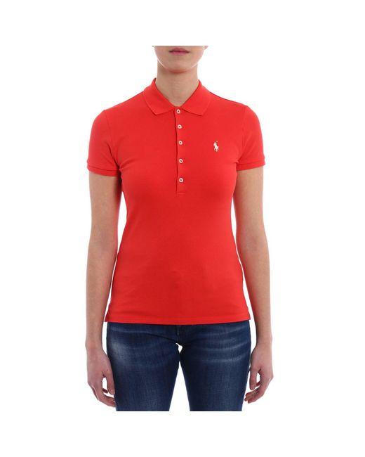 Polo Ralph Lauren - Red T-shirt Women - Lyst
