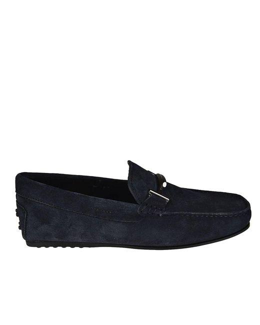 Tod's - Blue Loafers Men for Men - Lyst