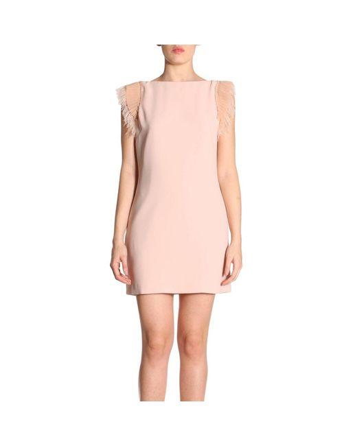 Pinko - Pink Dress Women - Lyst