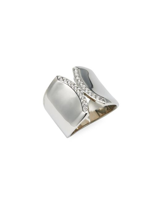 Vita Fede - Metallic Inverso Crystal Trend Ring - Lyst