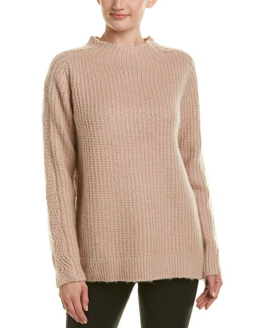 Reiss - Pink Anabella Wool-blend Sweater - Lyst