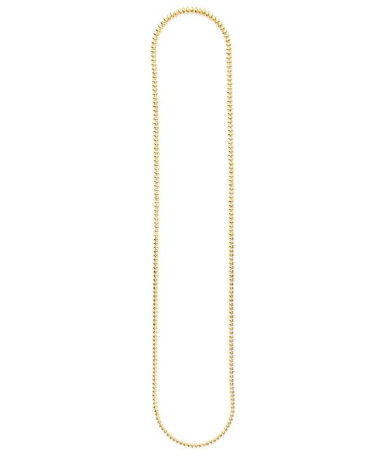 Eddie Borgo - Metallic Pav Cone Station Necklace - Lyst