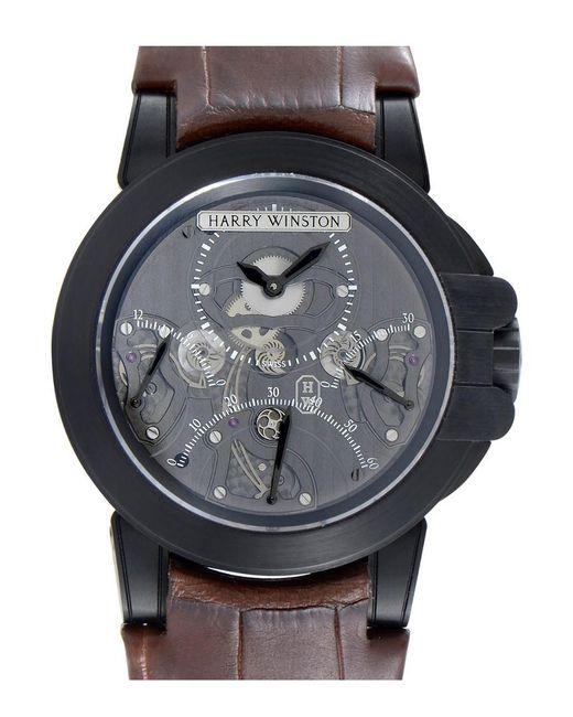 Harry Winston Multicolor Men's Ocean Triple Retrograde Chronograph Watch for men