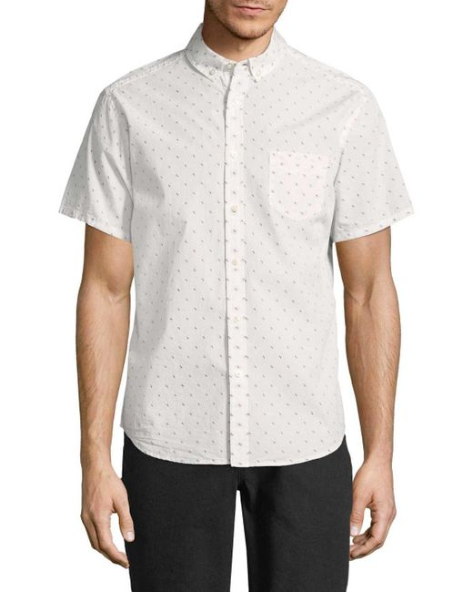 Life After Denim - White Clippers Cotton Sportshirt for Men - Lyst