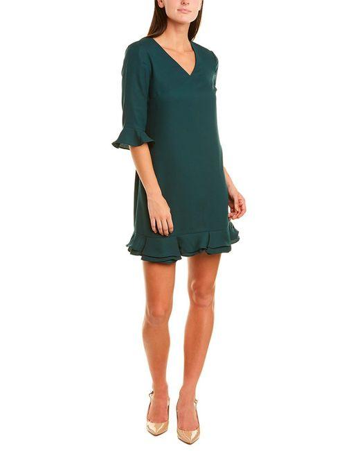 Cece by Cynthia Steffe Green Shift Dress