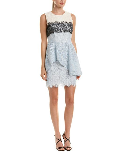 BCBGMAXAZRIA - Blue Noah Sheath Dress - Lyst