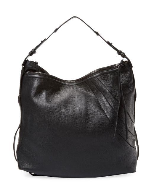 Kooba - Black Stratford Leather Hobo Bag - Lyst