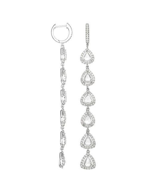 Diana M - Metallic . Fine Jewelry 18k 6.50 Ct. Tw. Diamond Drop Earrings - Lyst