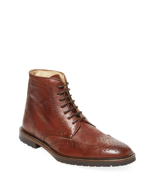 McCarren & Sons - Brown Wing Boot for Men - Lyst