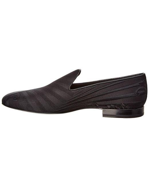 758acf0fba4 ... Versace - Black Medusa Head Leather Loafer for Men - Lyst ...
