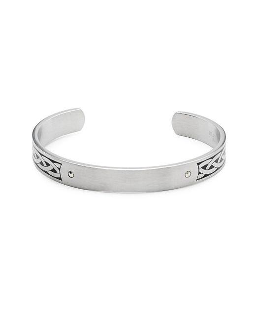 Saks Fifth Avenue - Metallic 14k Gold Celtic Cuff Bracelet - Lyst