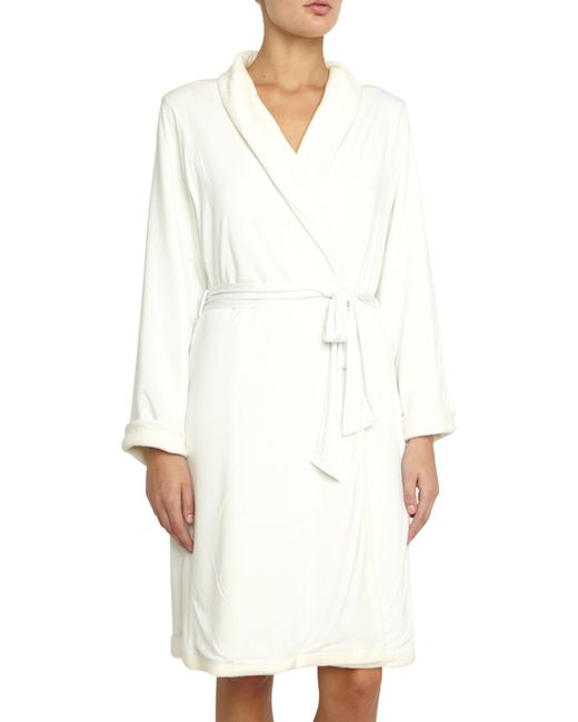 Eberjey - Natural Alpine Chic Classic Robe - Lyst