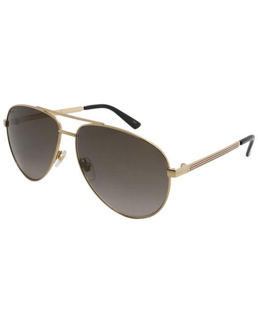 19aa4838ffc Gucci - Multicolor Men s GG0137S 61mm Sunglasses for Men - Lyst ...