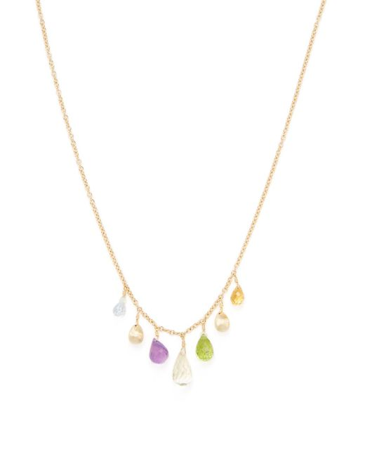 Marco Bicego - Metallic Alcapulco 18k Yellow Gold & Gemstone Necklace - Lyst