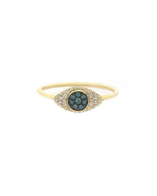 Adornia - Metallic 14k 0.21 Ct. Tw. Diamond Ring - Lyst