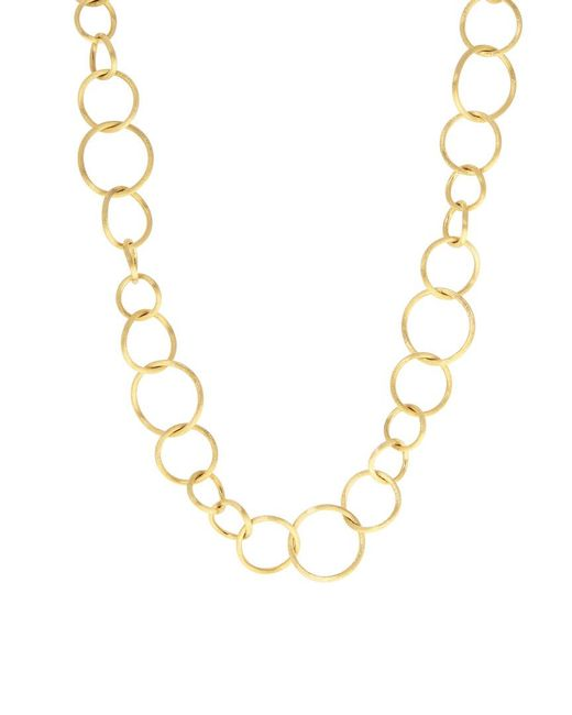 Marco Bicego Metallic Luce 18k Link 36in Necklace
