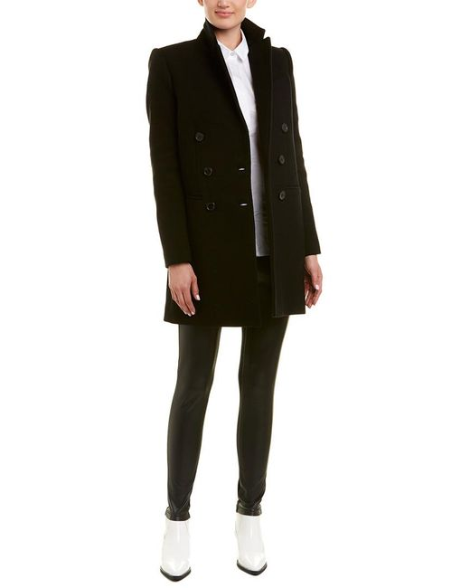 IRO - Black Kascko Wool-blend Coat - Lyst