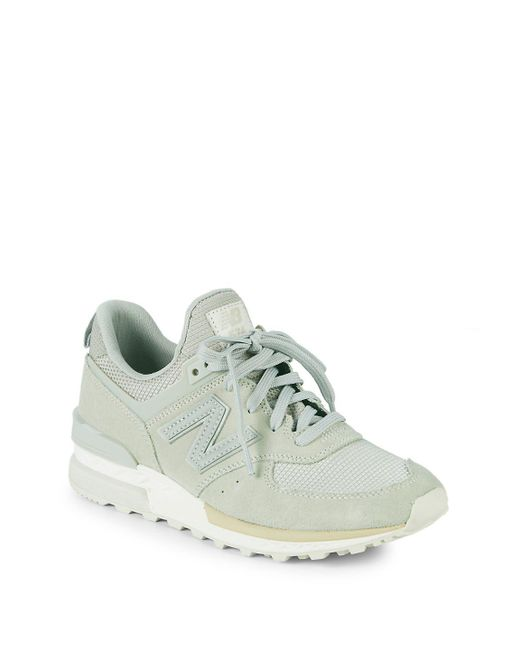New Balance - Gray T3 Low-top Sneakers - Lyst