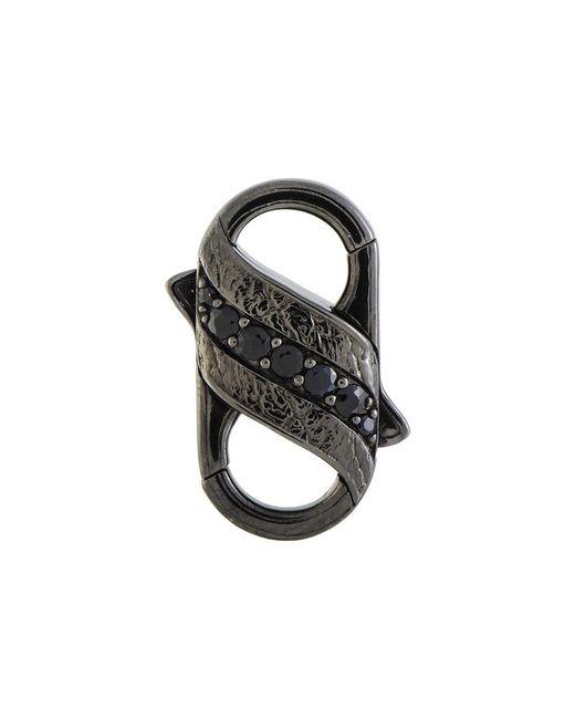 Stephen Webster Metallic Silver & Rhodium 0.82 Ct. Tw. Sapphire Clasp