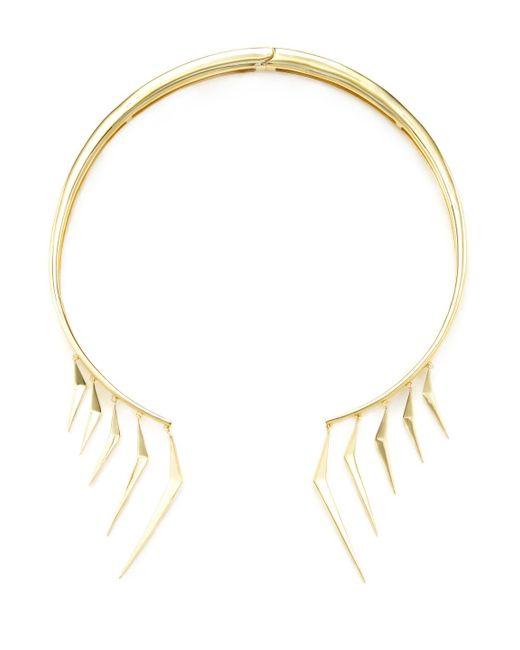 Noir Jewelry - Metallic Warrior Choker - Lyst