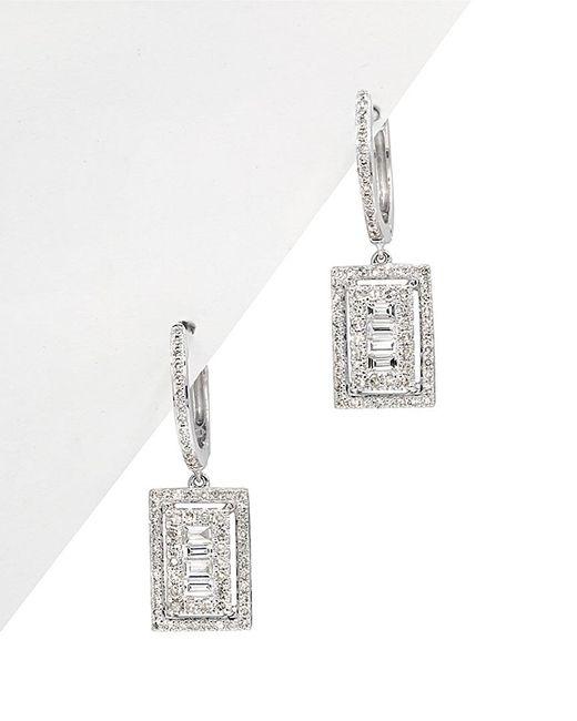 Diana M - Metallic . Fine Jewelry 14k 0.81 Ct. Tw. Diamond Drop Earrings - Lyst