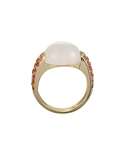 Roberto Coin - Metallic 18k Gemstone Ring - Lyst