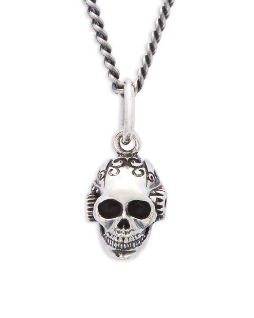 King Baby Studio | Metallic Victorian Gear Skull Pendant Necklace | Lyst