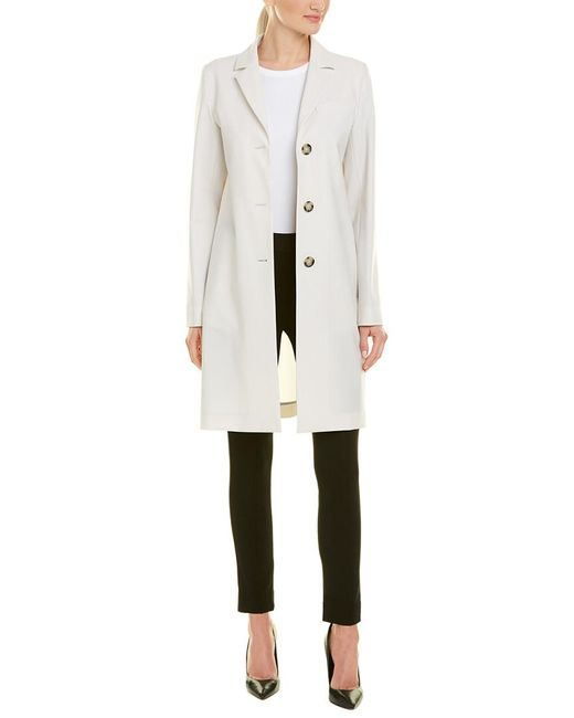 Cinzia Rocca - Natural Icons Single-breasted Coat - Lyst