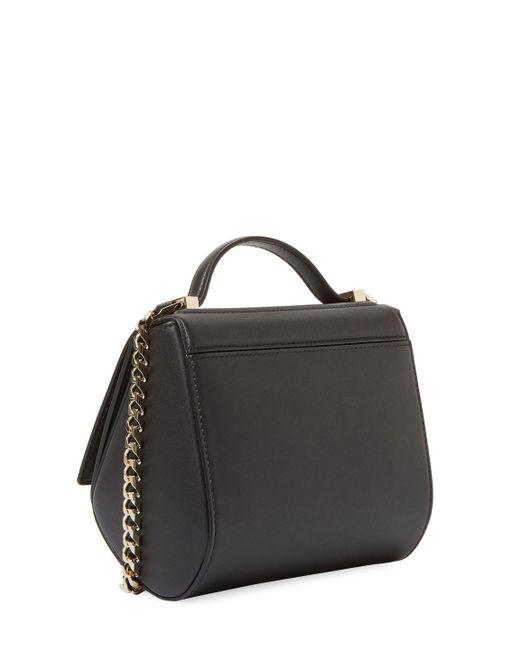 9617f61e26 Lyst - Givenchy Mini Pandora Leather Crossbody Bag in Black - Save 25%